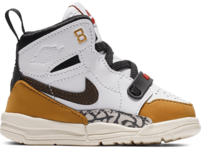 Jordan Legacy 312 Rookie of the Year (TD) White/Baroque Brown-Wheat-Varsity Red AT4055-102