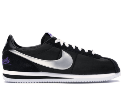 Nike Cortez Los Angeles Black Black/Metallic Silver-White CI9873-001