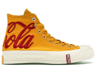 Converse Chuck Taylor All-Star 70s Hi Kith x Coca Cola Yellow 162985C