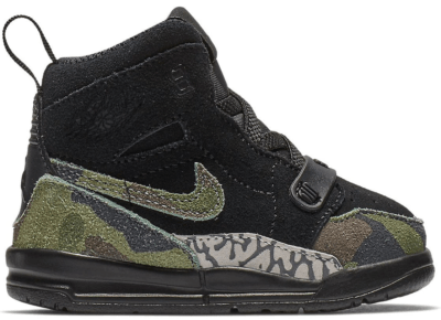 Jordan Legacy 312 Black Camo Green (TD) Black/Camo Green-Volt AT4055-003
