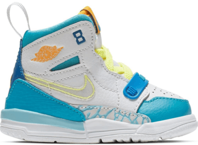 Jordan Legacy 312 Fly (TD) Blue Lagoon/Clear-Team Royal-Off White-Blue Gaze-Amarillo CI4451-400