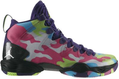 Jordan XX8 SE Bel Air Court Purple/White-Flash Lime-Gamma Blue 616345-580