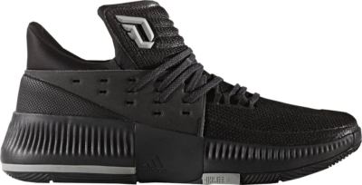 adidas D Lillard 3 Lights Out Black/Black-Black BY3206