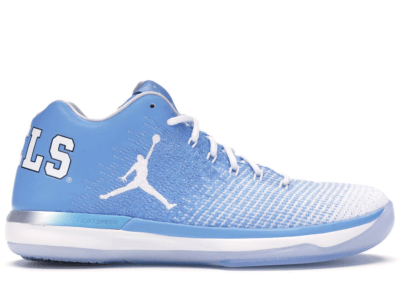 Jordan XXX1 Low UNC University Blue/White-College Navy 897564-407