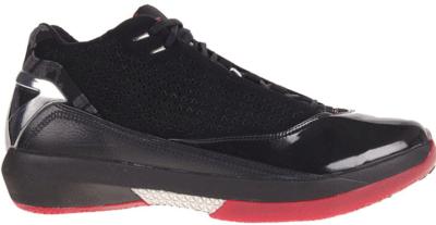 Jordan 22 OG Black Varisty Red 5 8ths Black/Varsity Red-White 316381-061