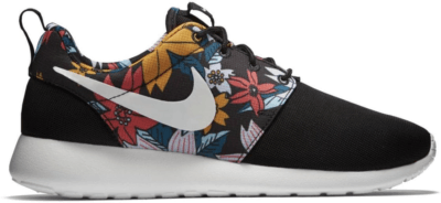 Nike Roshe Run Black Floral Aloha (GS) Black/Sail 599432-090