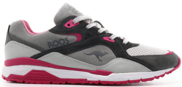 KangaROOS Roos 001 Goldberg Runaway Hibiscus Grey/Hibiscus 4702W-000-2144