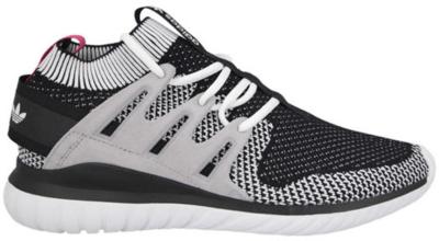 adidas Tubular Nova Primeknit Black Pink White/Black/Pink S74918