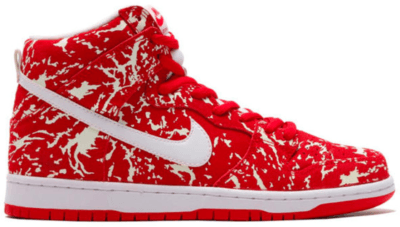 Nike Dunk SB High Raw Meat Challenge Red/Challenge Red/White 313171-616