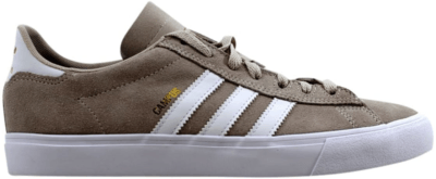 adidas Campus Vulc II Chalk White Chalk White/Cloud White-Gold Metallic DB0385