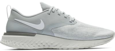 Nike Odyssey React 2 Flyknit Wolf Grey White AH1015-001