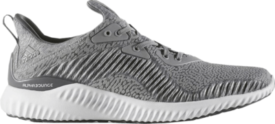 adidas Alphabounce Reflective Grey Medium Grey Heather/Running White BY4327