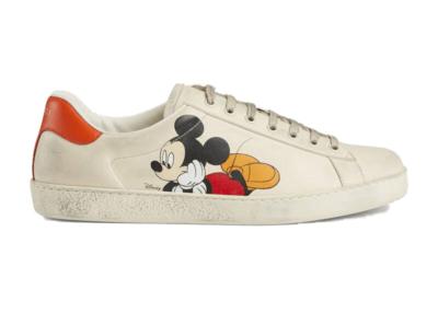 Gucci Ace x Disney Ivory Ivory 603697 AYO70 9591