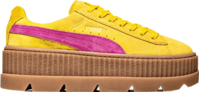 Puma Cleated Creeper Rihanna Fenty Suede Lemon (W) 366268-03