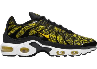 Nike Air Max Plus Yellow Snakeskin Black/Tour Yellow/White CT1555-001