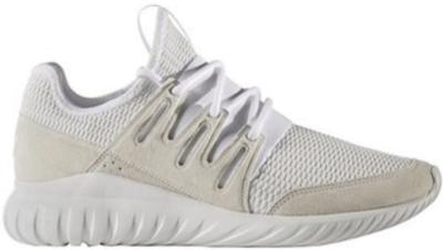 adidas Tubular Radial White Light Grey Footwear White/Footwear White/Light Solid Grey S76720