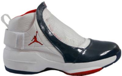 Jordan 19 OG East Coast White/Midnight Navy-Varsity Red 307546-161