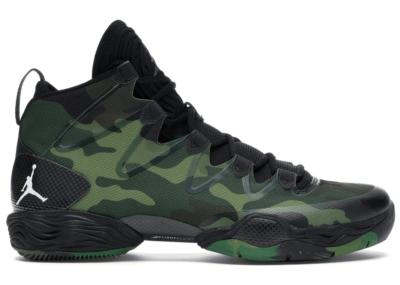 Jordan XX8 SE Green Camo Black/White-Logan Green-Fortress Green 616345-035