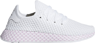 adidas Deerupt Cloud White Clear Lilac (W) Cloud White/Cloud White/Clear Lilac B37601