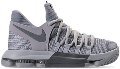 Nike KD 10 Wolf Grey (GS) Wolf Grey/Cool Grey 918365-007