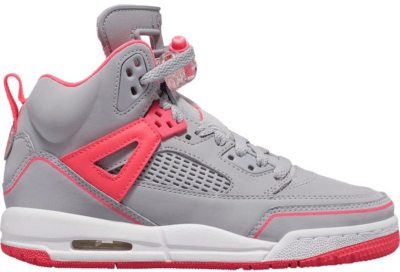 Jordan Spizike Wolf Grey Racer Pink (GS) Wolf Grey/Racer Pink-White 535712-060