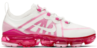 Nike Air VaporMax 2019 Summit White Pink Rise (W) Summit White/Summit White-Laser Fuchsia-Pink Rise AR6632-105