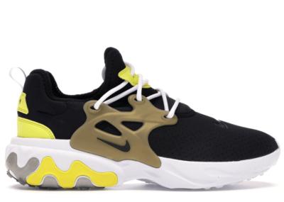 Nike React Presto Brutal Honey Black/Black-Yellow Streak-Metallic Gold-White AV2605-001