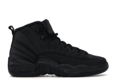 Jordan 12 Retro Winter Black (GS) Black/Black-Anthracite BQ6852-001