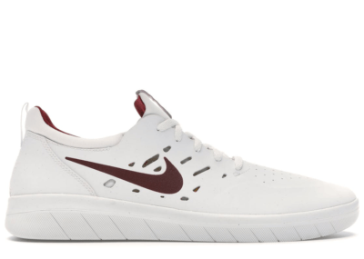 Nike SB Nyjah Free Summit White Team Crimson AA4272-102
