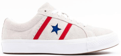 Converse One Star Academy Ox White Red Blue 164390C