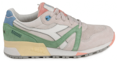 "Diadora N9000 Concepts ""Lire"" Grey/White-Green 501.161981 75017"