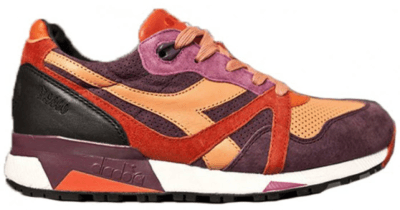 "Diadora N9000 Extra Butter ""Giallo"" Red Lollipop 501.170371-45937/501.170371-45037"
