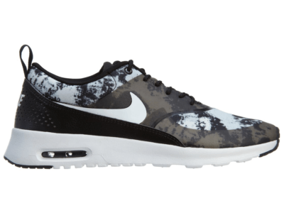 Nike Free Air Max Thea Print Black White-Dark Grey (W) Black/White-Dark Grey 599408-007