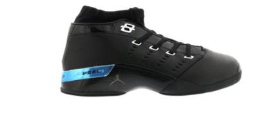 Jordan 17 OG Low Black Chrome 303891-004