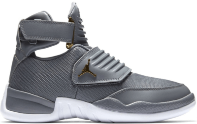 Jordan Generation 23 Cool Grey Cool Grey/Cool Grey-White-Metallic Gold AA1294-004