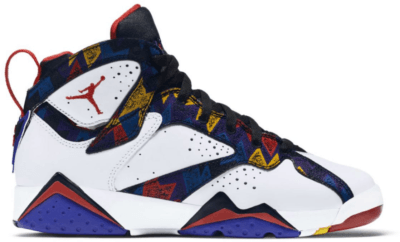Jordan 7 Retro Nothing But Net (GS) White/University Red-Black-Bright Concord 304774-142