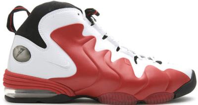 Nike Air Penny III Varsity Red White/Varsity Red-Black 304845-100