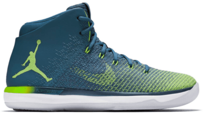 Jordan XXX1 Rio Green Abyss/Ghost Green-White 845037-325