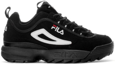 Fila Disruptor 2 Black White Red Black/White-Fila Red 1FM00139-014