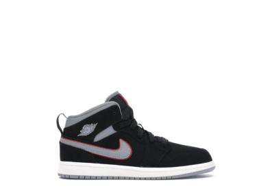 Jordan 1 Mid Black 640734-060