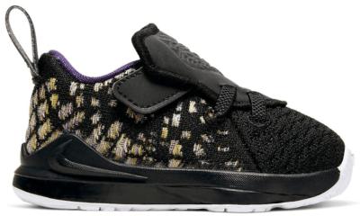 Nike LeBron 17 Lakers (TD) Black/White-Eggplant-Amarillo BQ5596-004