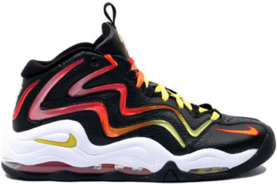 Nike Air Pippen 1 Sunset Black/Vibrant Yellow-Sport Red-Chilling Orange 410489-086