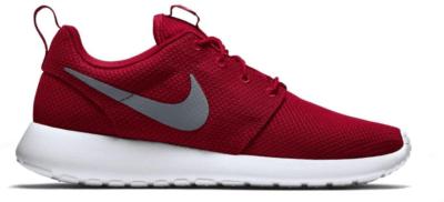 Nike Roshe Run Sport Red Cool Grey 511881-601