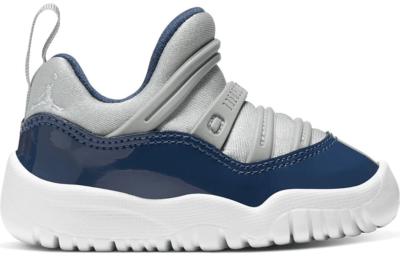 Jordan 11 Retro Little Flex Georgetown (TD) Grey Mist/Midnight Navy-White BQ7102-007