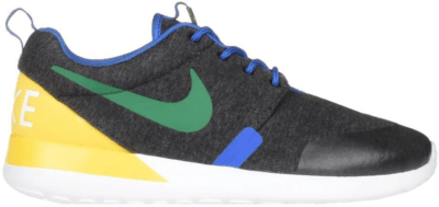 Nike Roshe Run Brazil (GS) Black Heather/Pine Green-Tour Yellow 703935-001