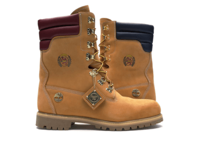 Timberland Shearling 40 Below Super Boot Kith x Tommy Hilfiger Wheat TB0A1UUQ231