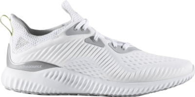 adidas Alphabounce 1 Kolor White Footwear White/Grey Two/Semi Solar Yellow CQ0302