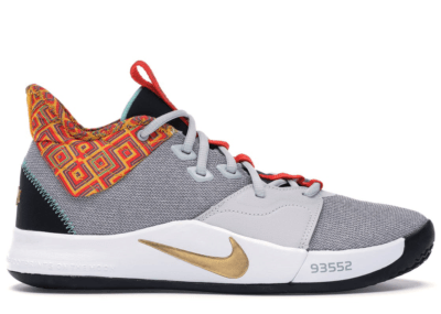Nike PG 3 BHM (2019) Pure Platinum/Metallic Gold BQ6242-007