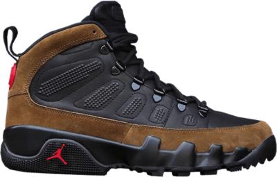 Jordan 9 Retro Boot NRG Olive Black/Light Olive-True Red AR4491-012