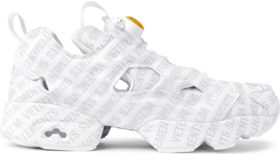 Reebok Instapump Fury Vetements Emoji White White/Grey 181669M237008